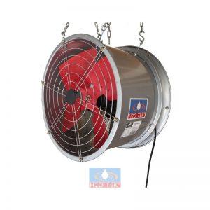 Ventilador extractor axial industrial