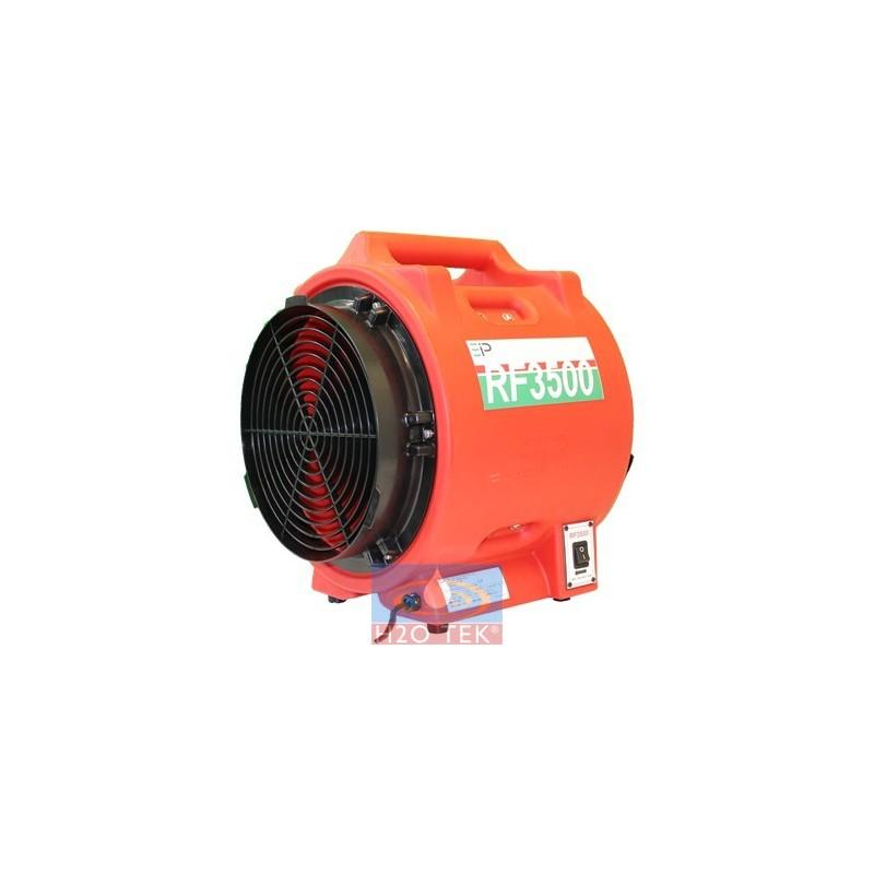 Ventilador de alta capacidad comercial-industrial marca EBAC MOD. RF3500