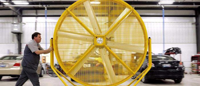 Importancia del mantenimiento del ventilador industrial