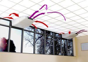 Ventilacion artificial en centros de salud