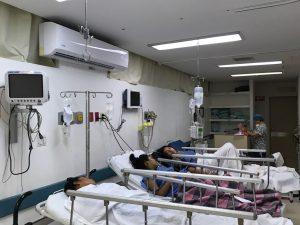 Control de enfermedades con ventilación en hospitales