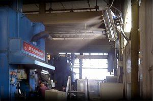 Funcionamiento de ventilacion industrial de calidad